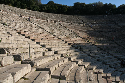 The Ancient Theater of Epidauros - Lygourio